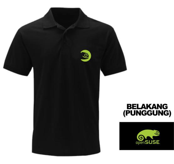[PRE ORDER] Polo Open Suse - LinuxGeekers 2
