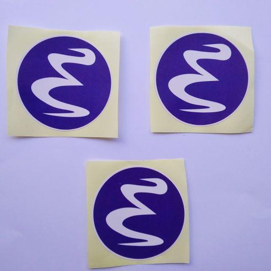 Stiker Emacs - Vinyl 2