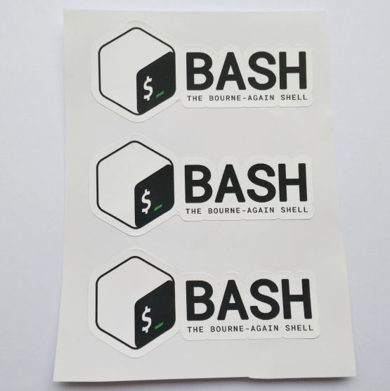 Stiker Bash - Vinyl 2