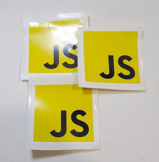 Stiker Javascript - Vinyl 2