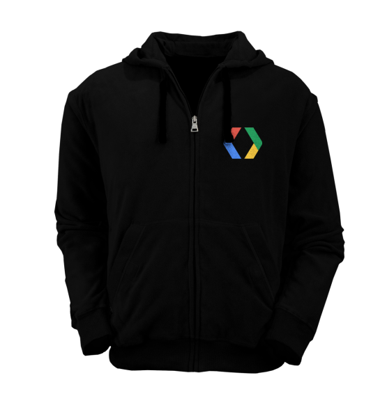 [PRE ORDER] Hoodie Zipper Google Developers 3