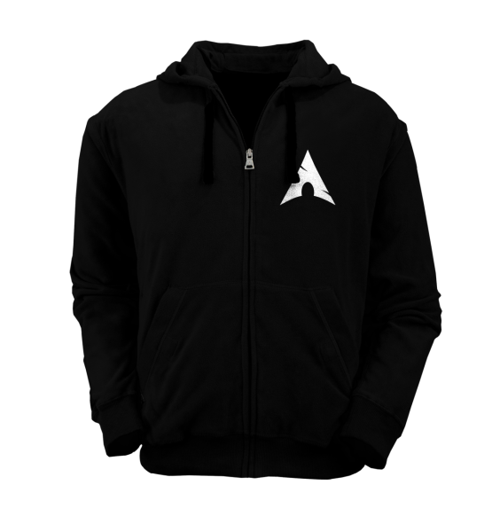 [PRE ORDER] Hoodie Zipper Arch Linux 2