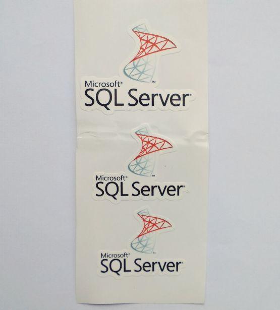 Stiker SQL Server -  Vinyl Cut 2