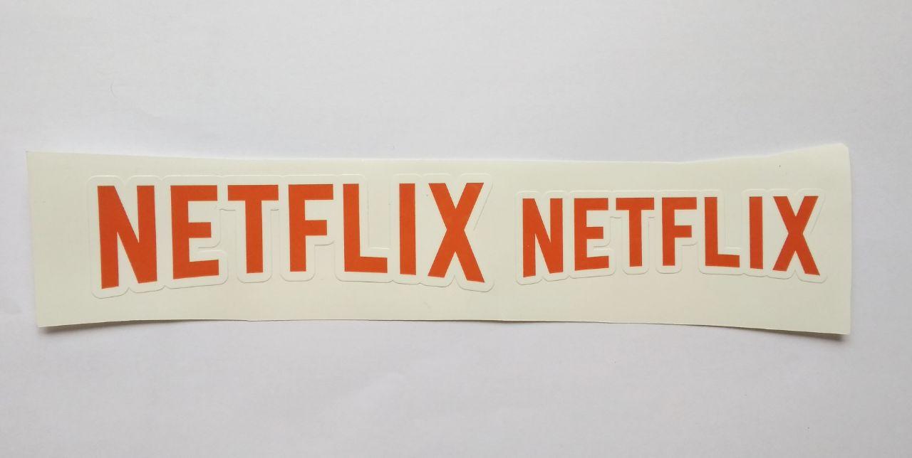Stiker Netflix - Vinyl Cut 1