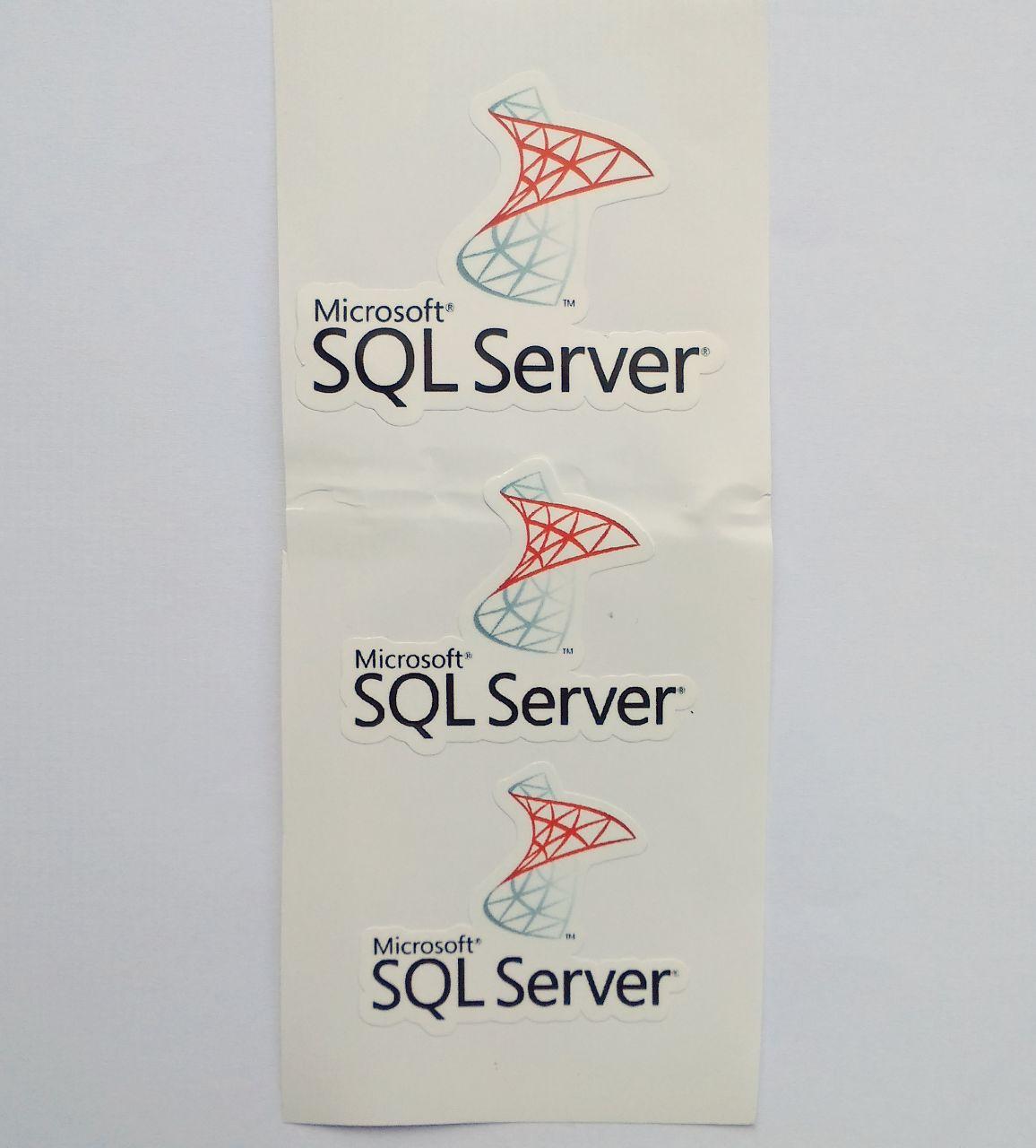 Stiker SQL Server -  Vinyl Cut 1