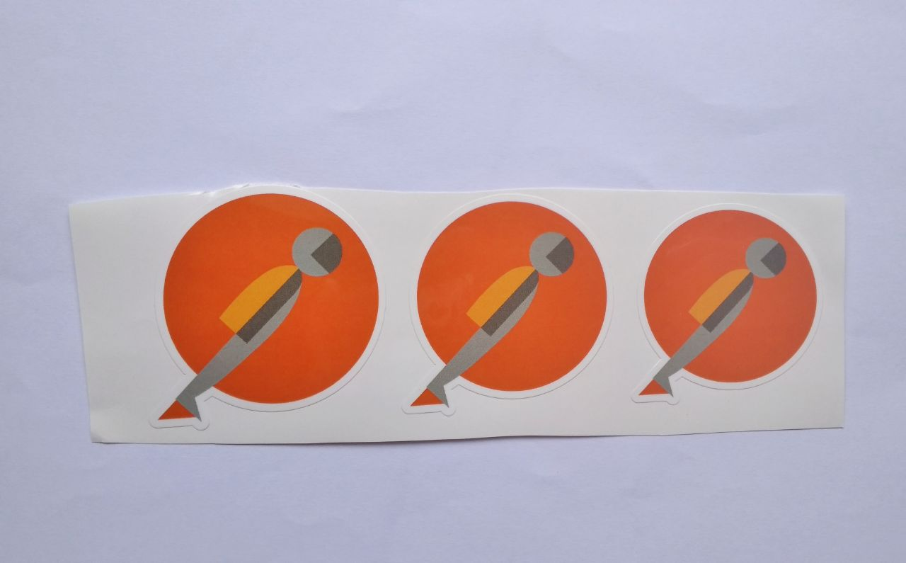 Stiker Postman -  Vinyl Cut 1