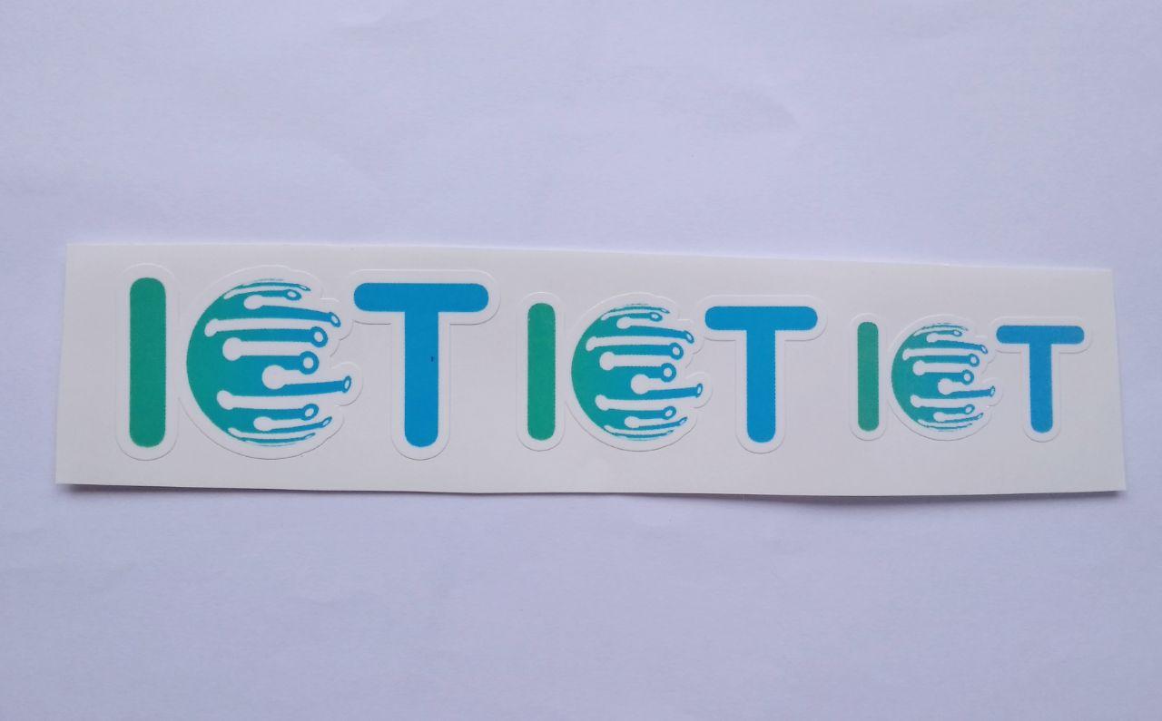 Stiker Internet of Things -  Vinyl Cut 1