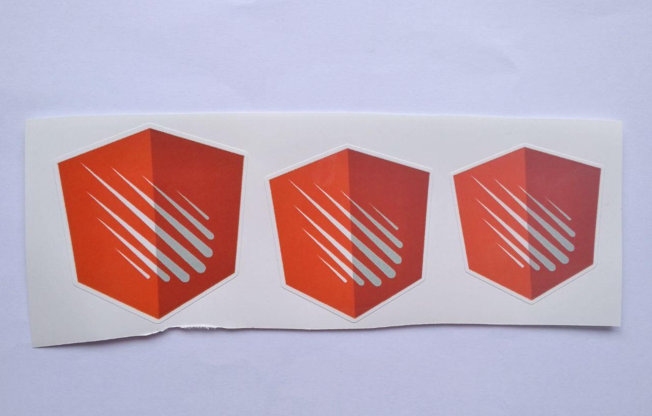 Stiker Angular Meter -  Vinyl Cut 1