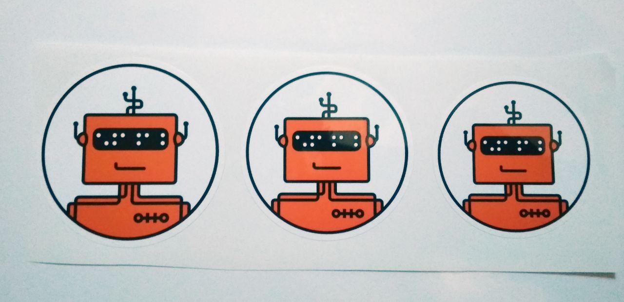 Stiker Otto - Vinyl Cut 1