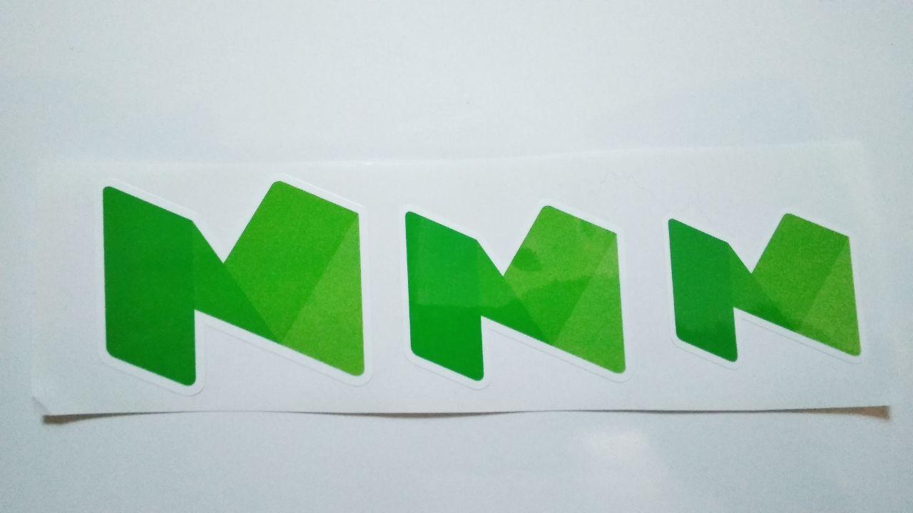 Stiker Medium - Vinyl Cut 1