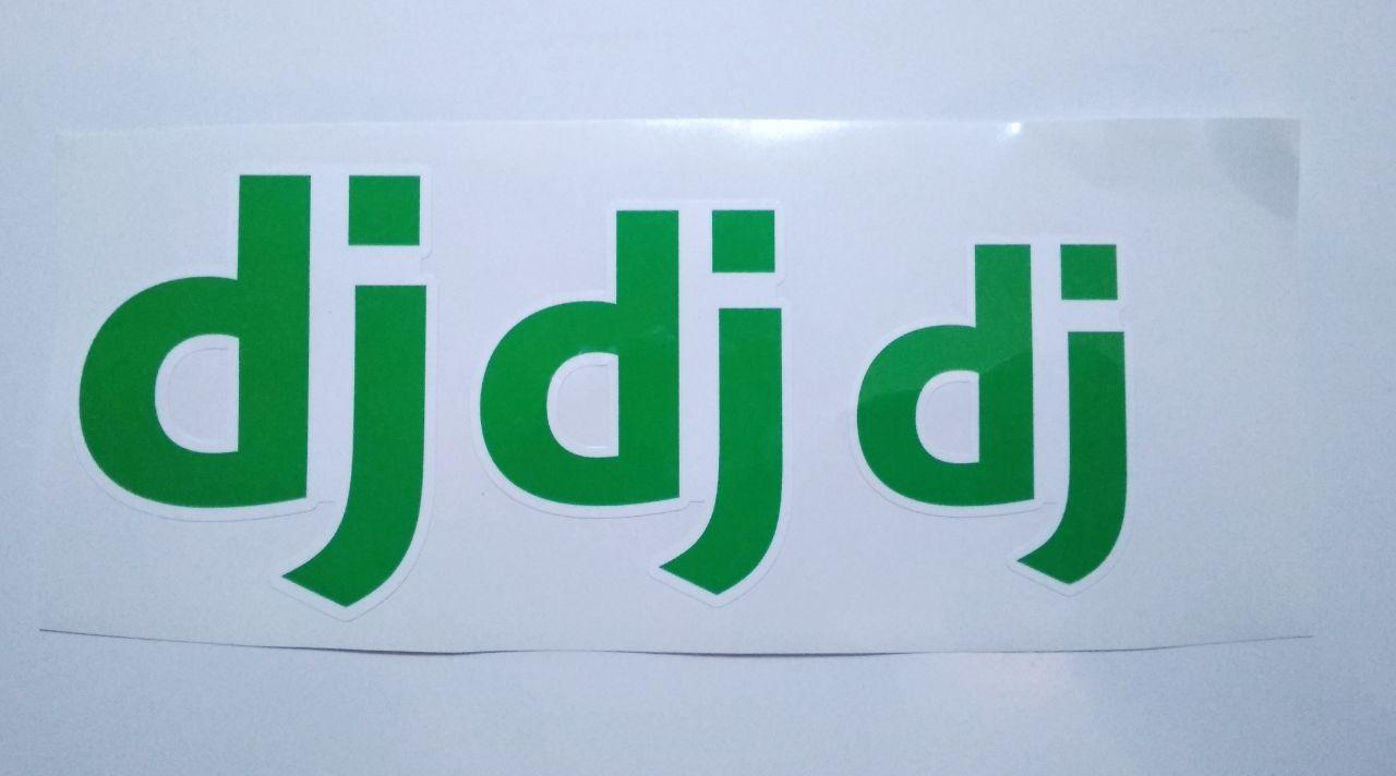 Stiker Django - Vinyl Cut 1