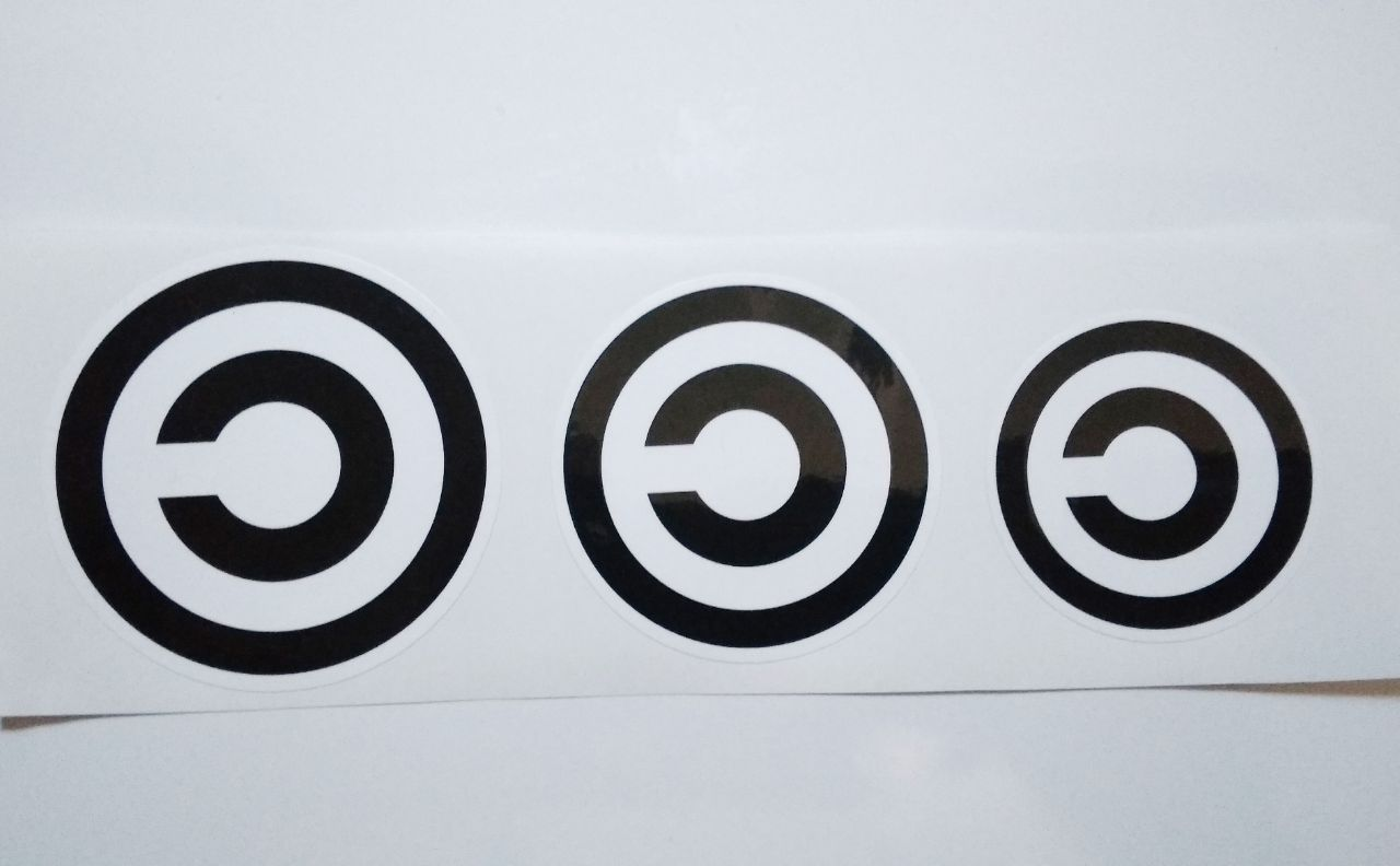 Stiker Copyleft - Vinyl Cut 1
