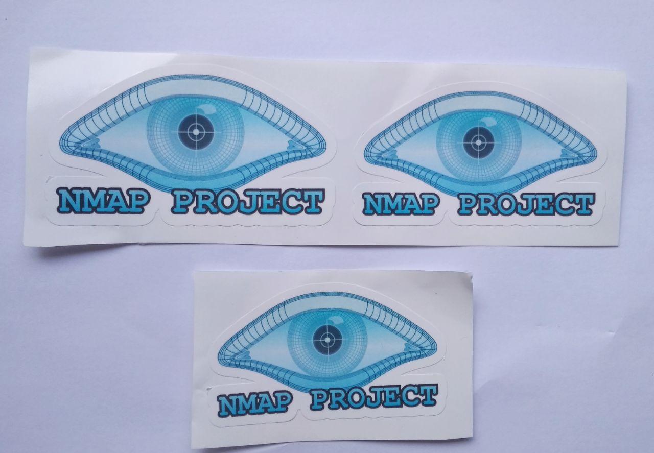 Stiker Nmap Vinyl Cut 1