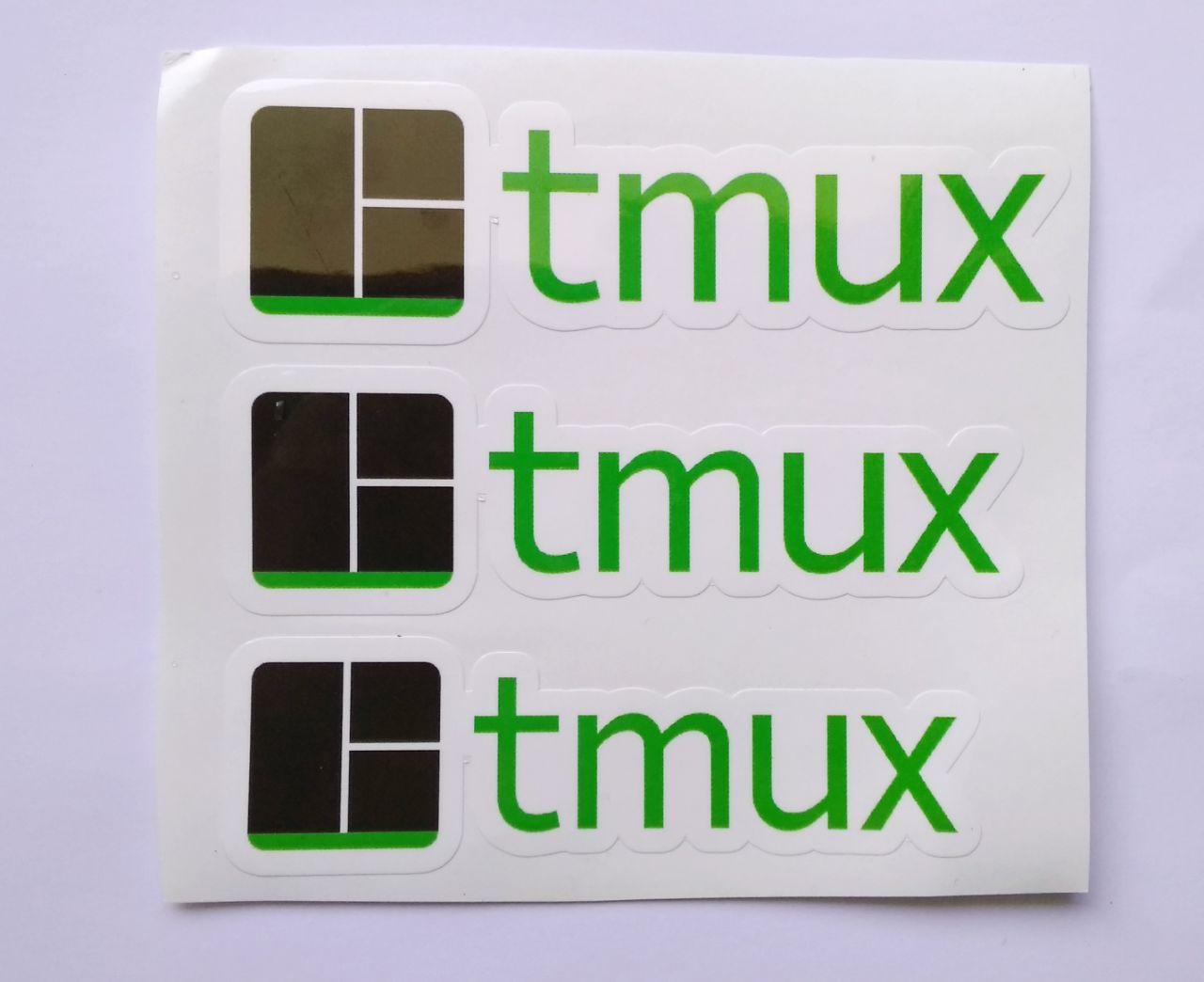 Stiker Tmux - Vinyl Cut 1