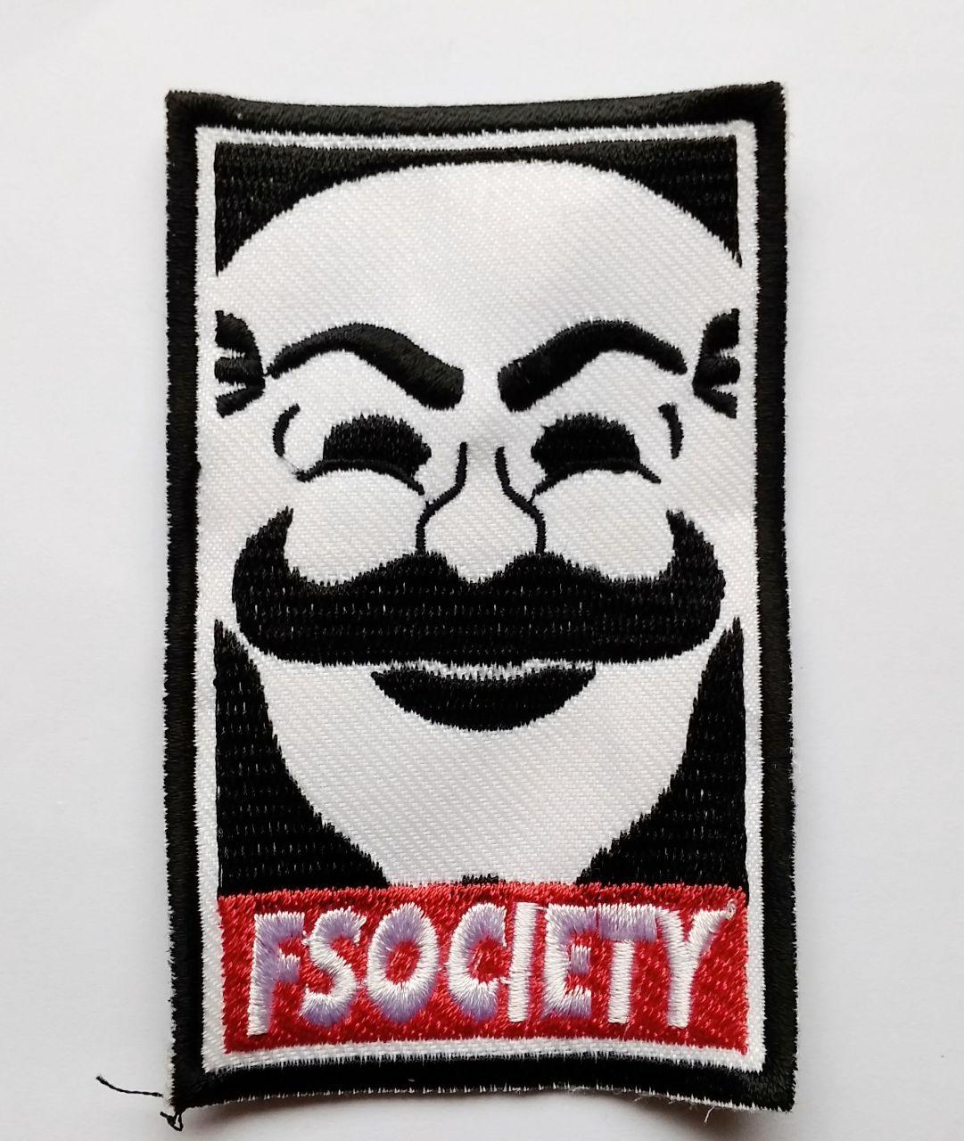 Patch Emblem Mr Robot dan Fsociety 5