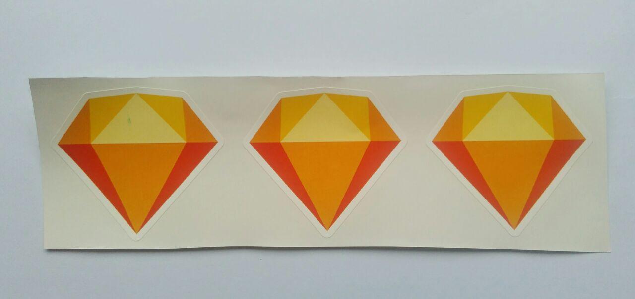 Stiker Sketch  - Vinyl Cut 1
