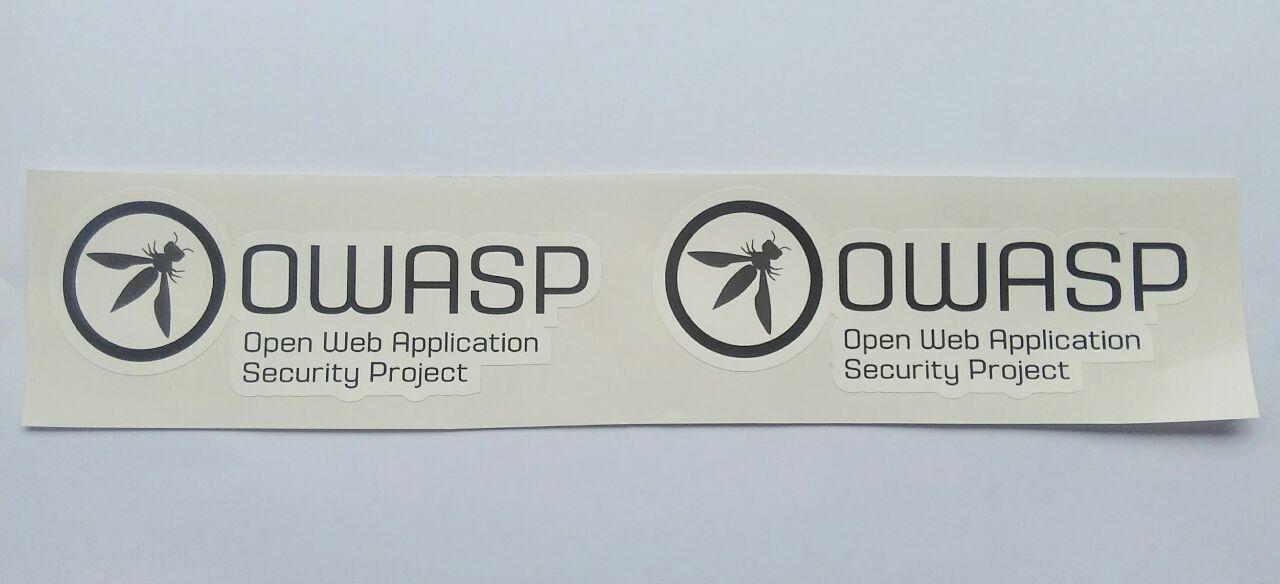 Stiker Owasp - Vinyl Cut 1
