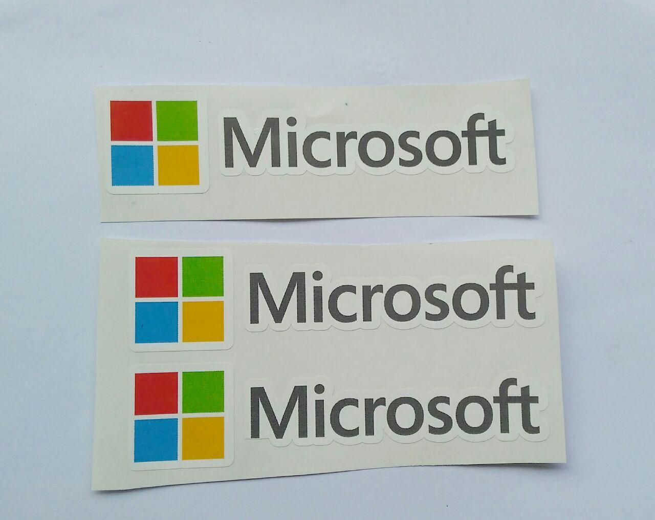 Stiker Microsoft - Vinyl Cut 1