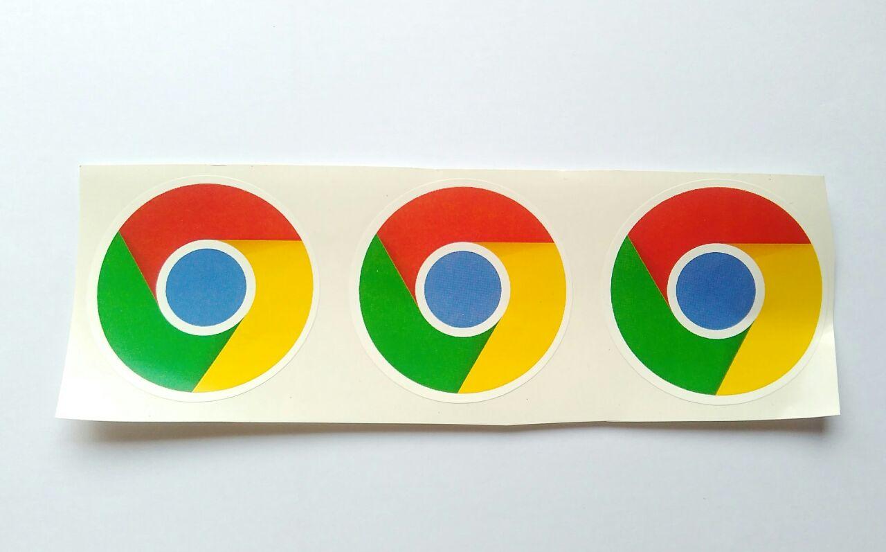 Stiker Chrome - Vinyl Cut 1