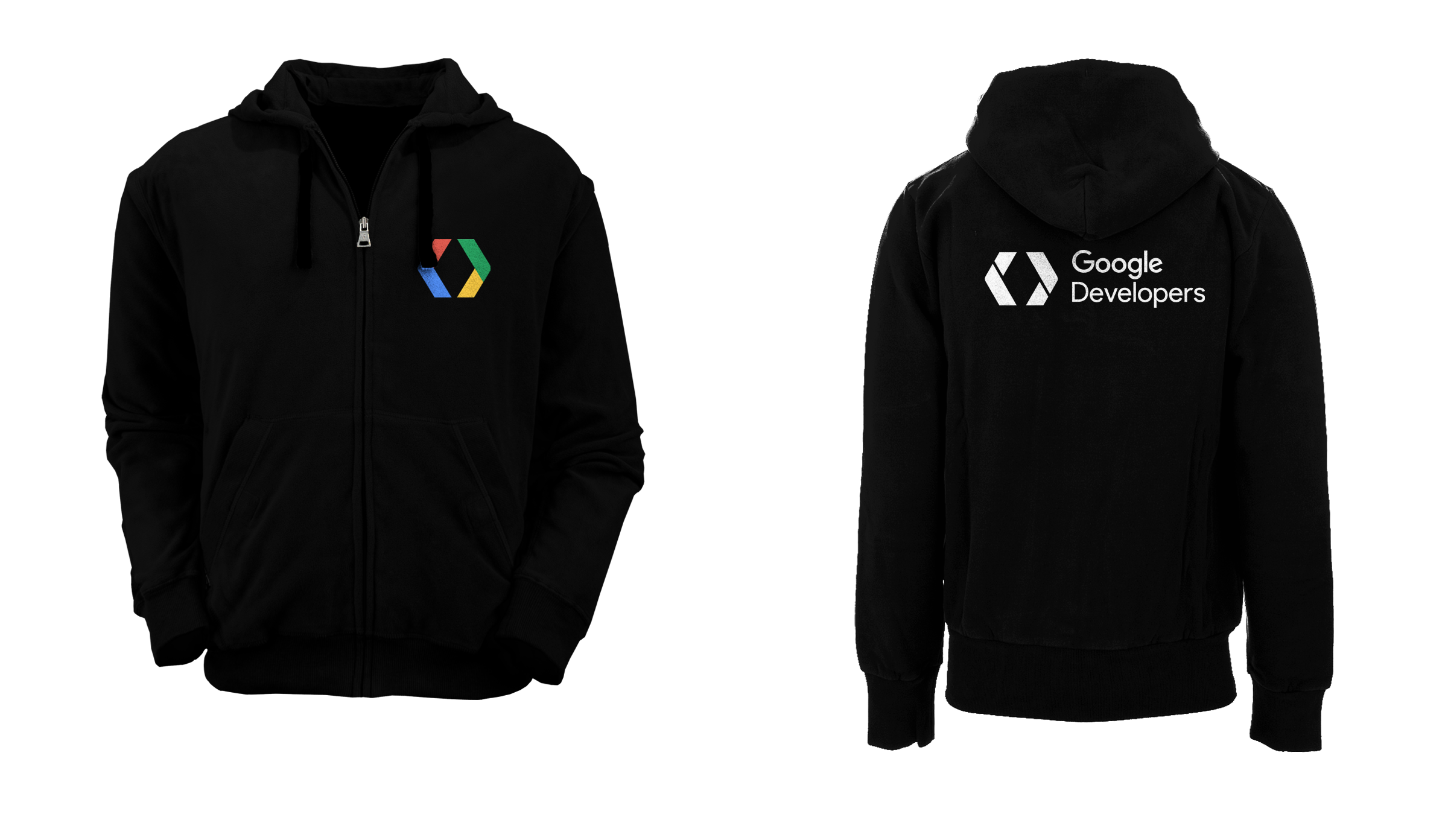 [PRE ORDER] Hoodie Zipper Google Developers 5