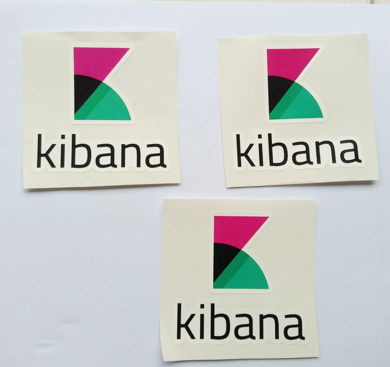 Stiker Kibana - Vinyl Cut 1