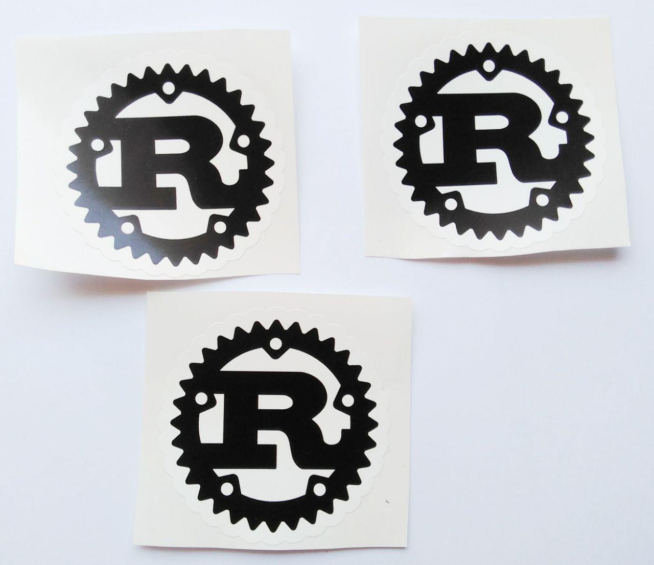 Stiker Rust - Vinyl Cut 1