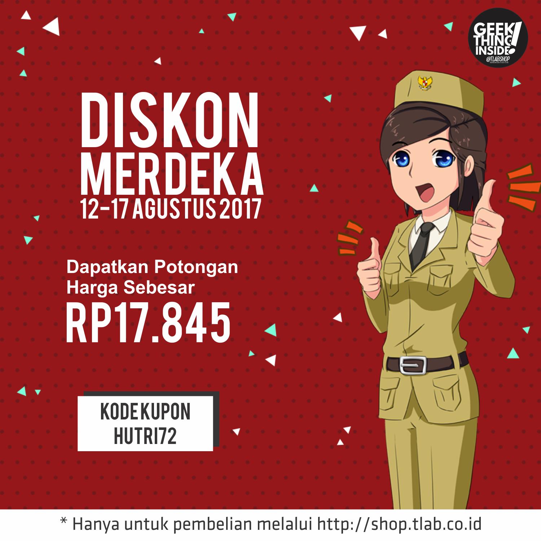 Diskon Merdeka, Potongan harga Rp17.845 3