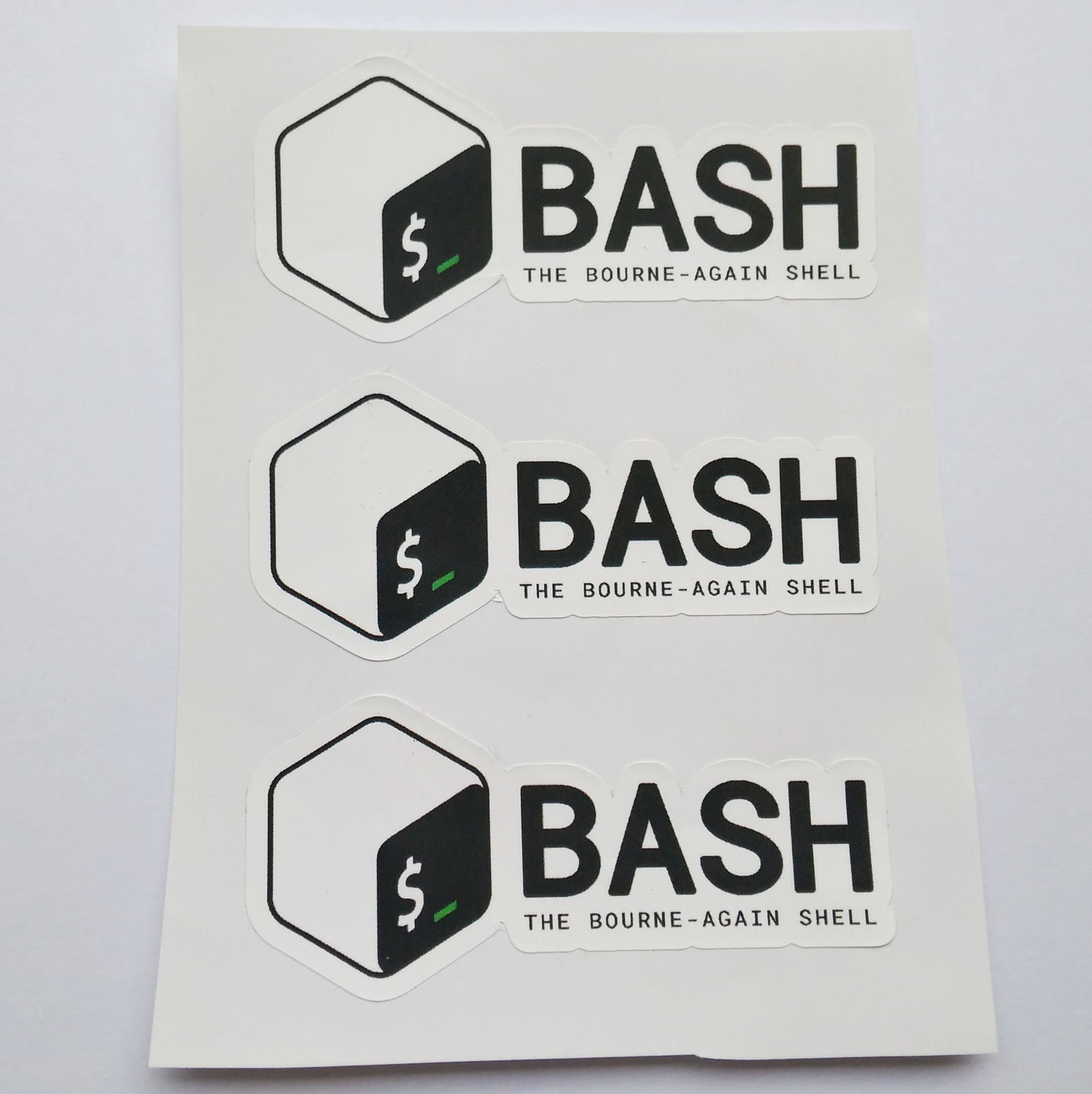 Stiker Bash - Vinyl 1
