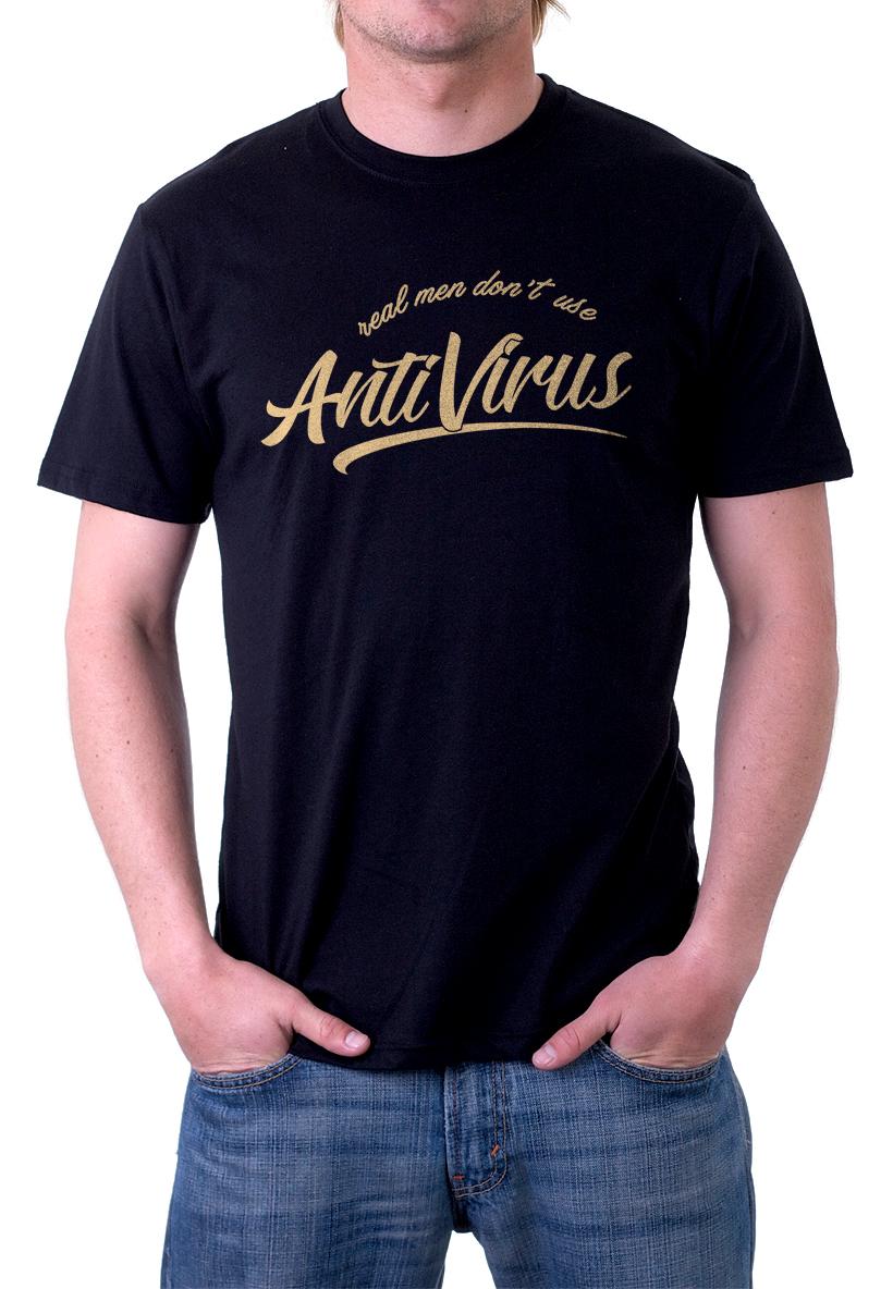 Kaos Real Men dont use Antivirus - TLGS 1