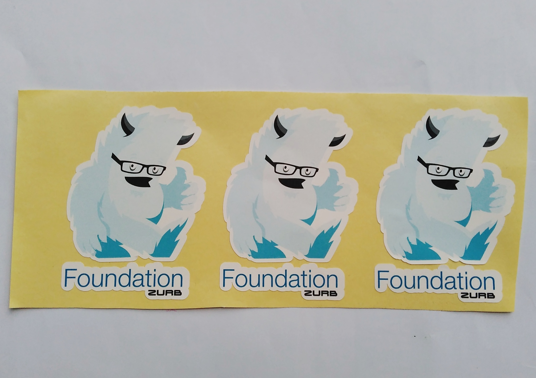 Stiker Foundation - Vinyl 1