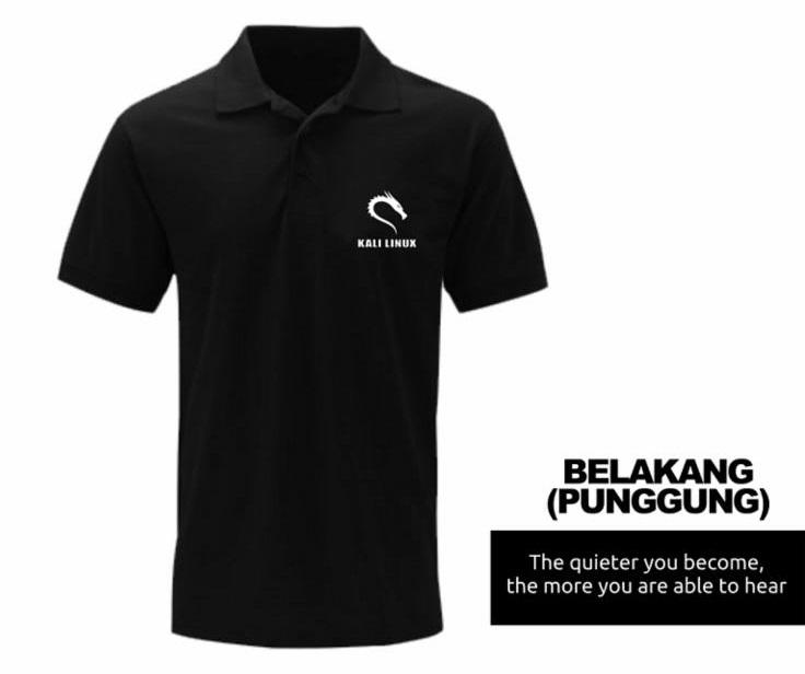 [PRE ORDER] Polo Kali Linux - LinuxGeekers 1