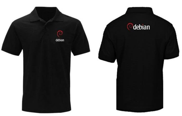 [PRE ORDER] Polo Debian - LinuxGeekers 3