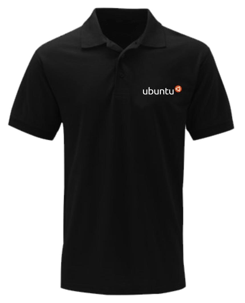 [PRE ORDER] Polo Ubuntu - LinuxGeekers 1