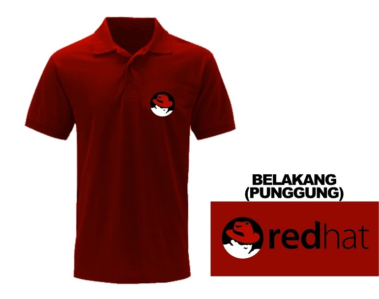[PRE ORDER] Polo Redhat - LinuxGeekers 1