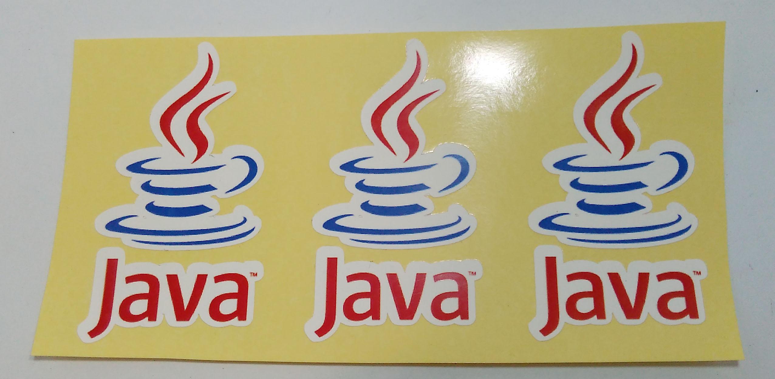 Stiker Java - Vinyl 1