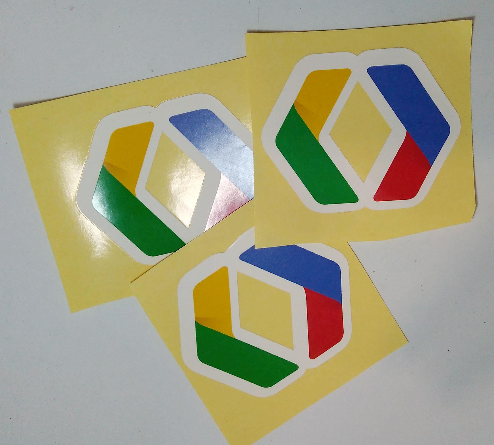 Stiker Google Developer - Vinyl 1