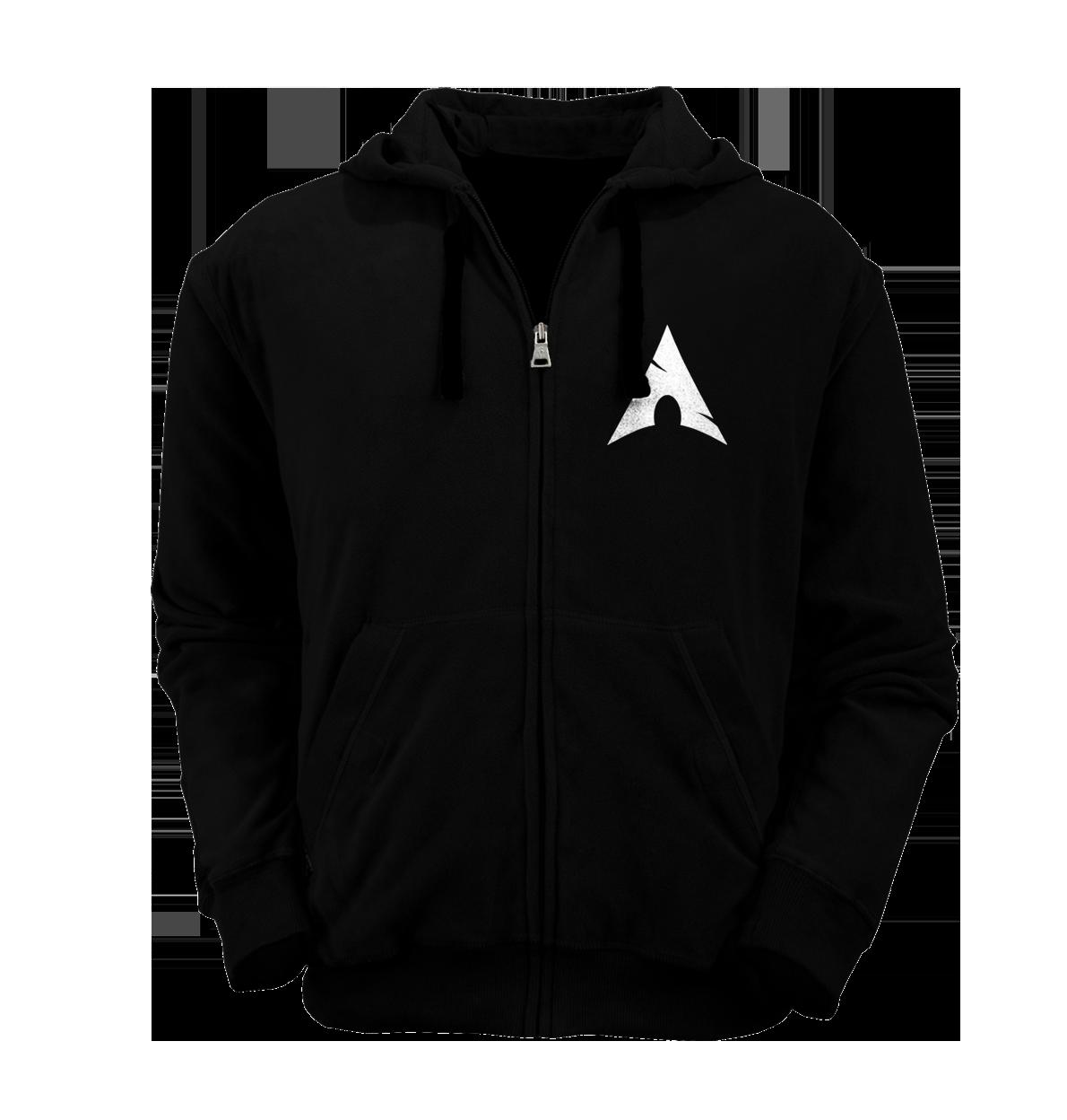 [PRE ORDER] Hoodie Zipper Arch Linux 1