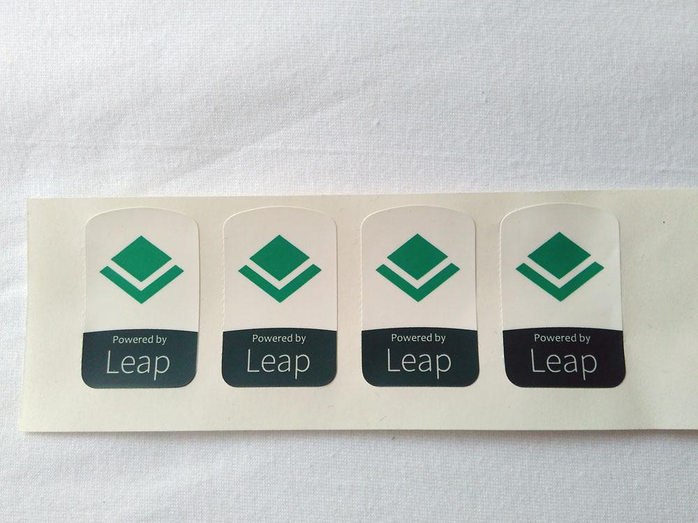 Stiker Badge Leap 1