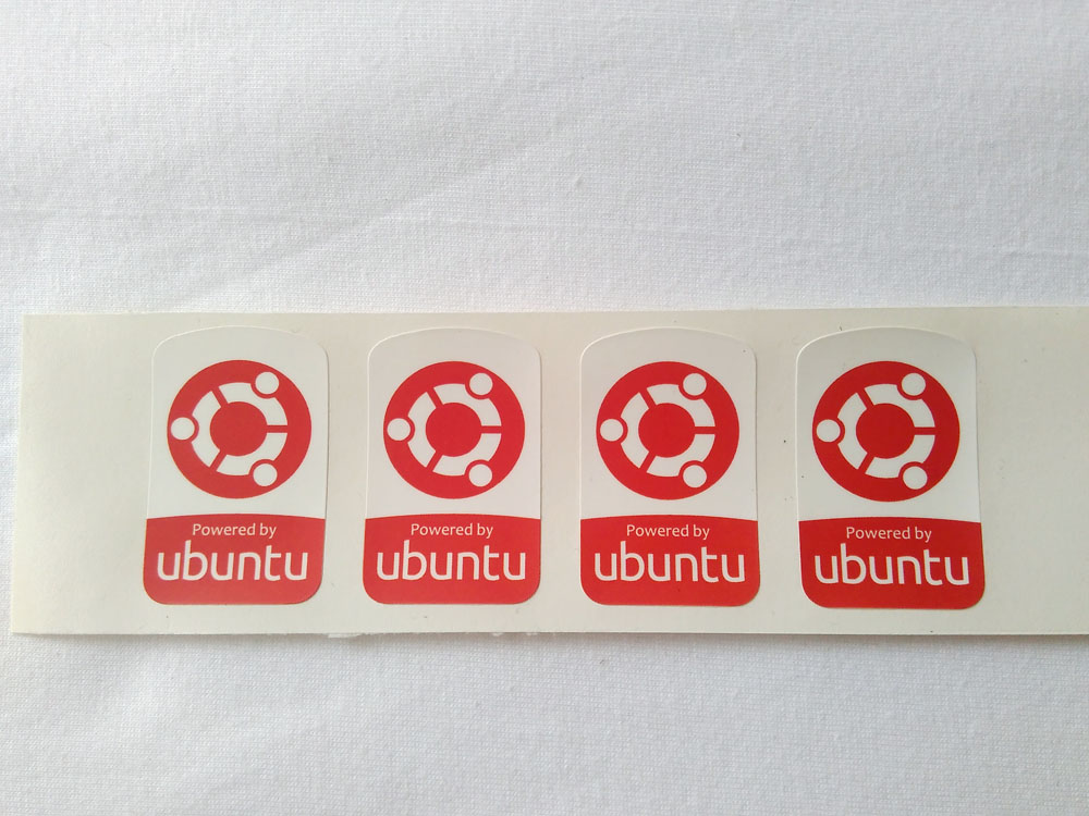 Stiker Badge Ubuntu 2