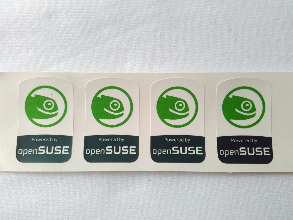 Stiker Badge OpenSUSE 1