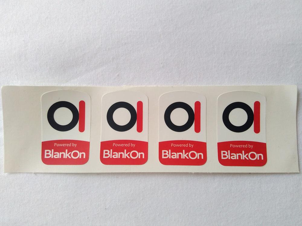 Stiker Badge Blankon 1