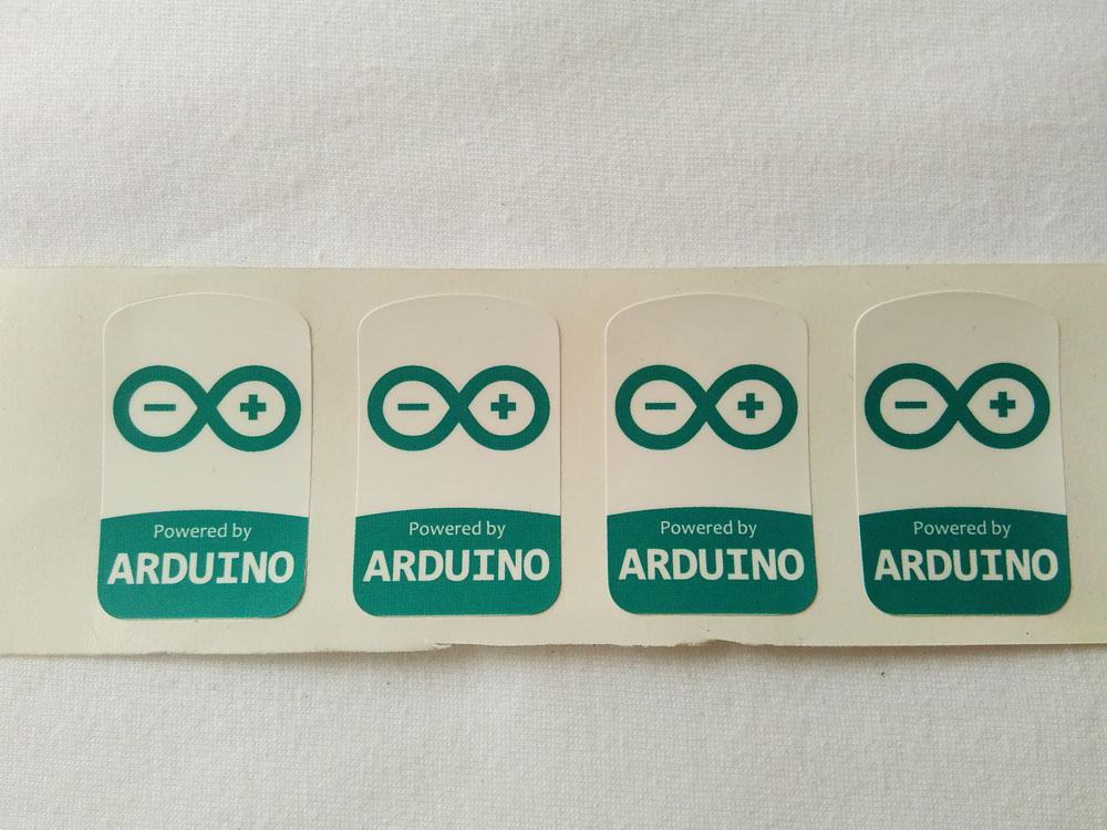 Stiker Badge Arduino 1