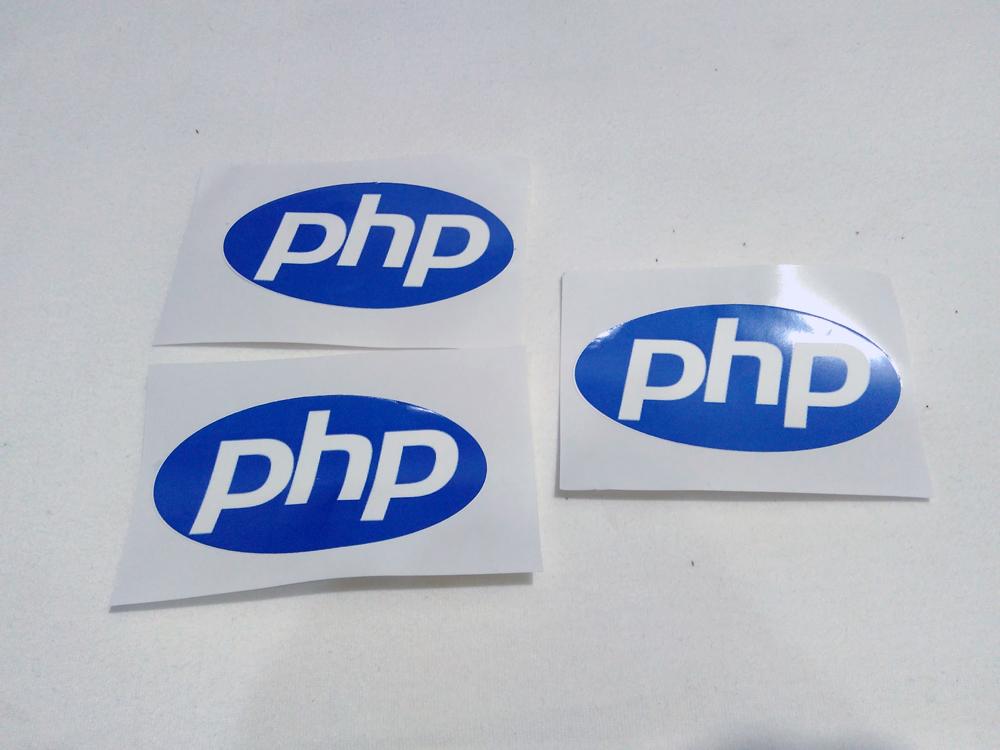 Stiker PHP - Vinyl 1