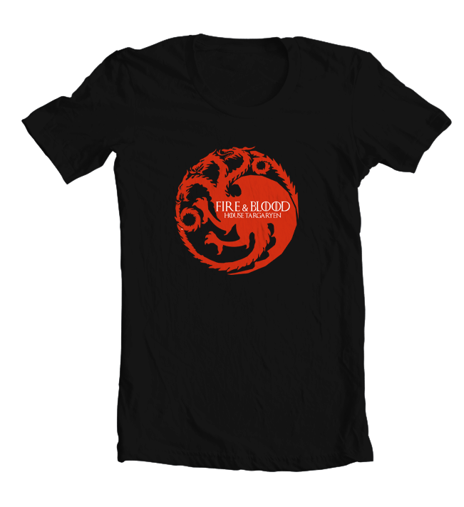 Kaos House Targaryen Game of Throne - TLGS 1