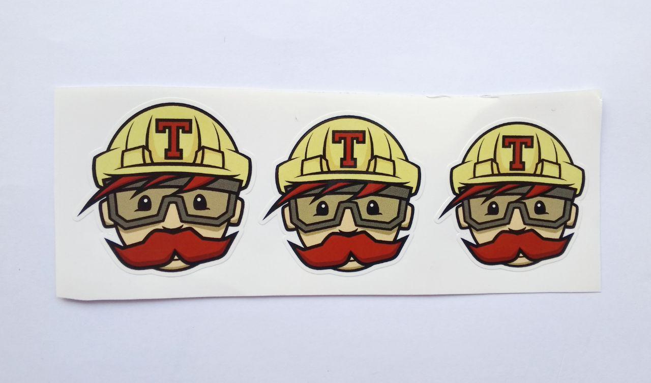 Stiker Travis CI -  Vinyl Cut 1