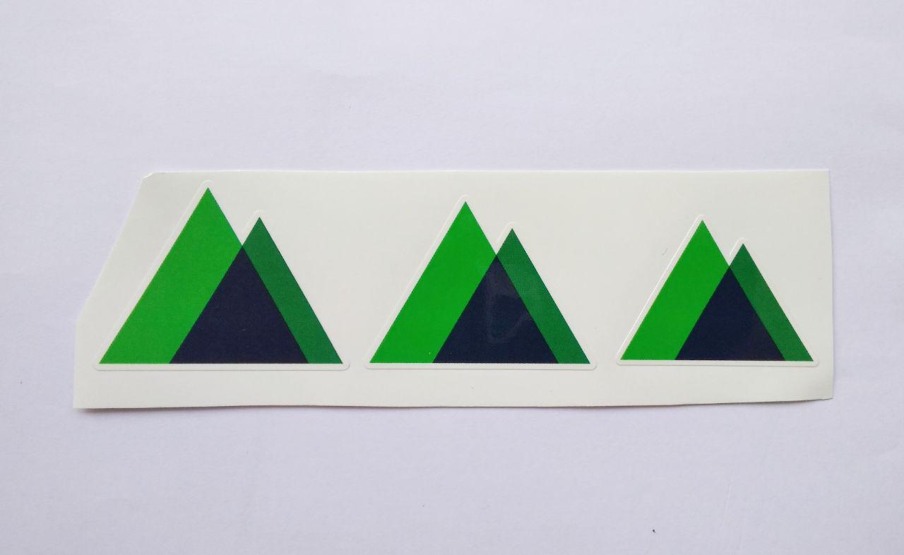 Stiker Nuxt JS-  Vinyl Cut 1