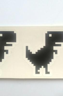 Stiker Offline Dinosaur - Vinyl Cut 1