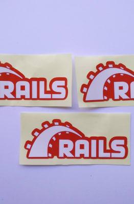 Stiker Rails - Vinyl 1