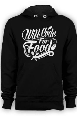 [PRE Order] Hoodie Code For Food 1