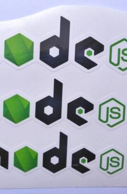 Stiker Node JS - Vinyl 1